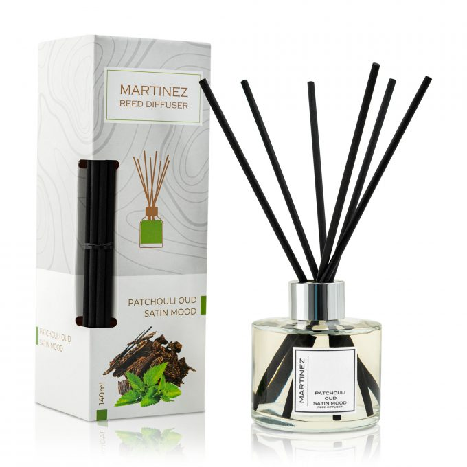 Reed Diffuser Patchouli Oud Satin Mood